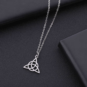Triquetra Celtic Knot Pendant Necklace
