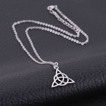 Load image into Gallery viewer, Triquetra Celtic Knot Pendant Necklace