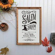 Load image into Gallery viewer, Salem Broom Co Canvas Wall Art