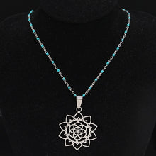 Load image into Gallery viewer, Flower of Life Necklace