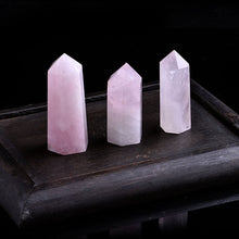 Load image into Gallery viewer, 1PC Natural Rose Quartz Crystal Point