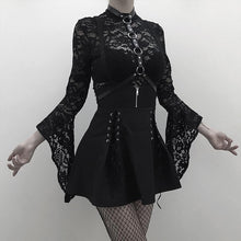 Load image into Gallery viewer, Goth Lace Bodysuit