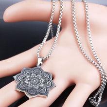 Load image into Gallery viewer, Flower of Life Pendant Necklace