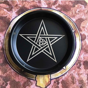 Pentagram & Triquetra Candle Holders