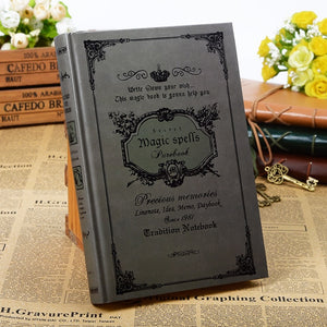 Magic Spells Vintage Notebook