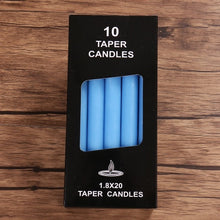 Load image into Gallery viewer, Taper Candles Set (10 Pcs)