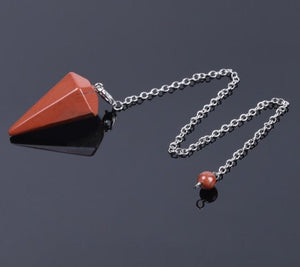 Natural Healing Gemstone Pendulum