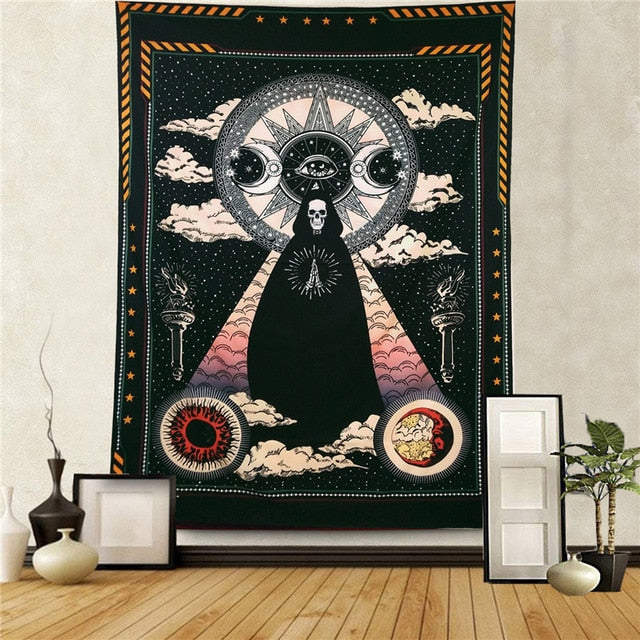 All Seeing Eye Tapestry