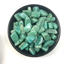 Load image into Gallery viewer, Natural Amazonite Tumbled Stones