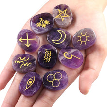 Load image into Gallery viewer, 10 Pcs Engraved Rune Set