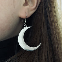 Load image into Gallery viewer, Crescent Moon Witchy Earrings