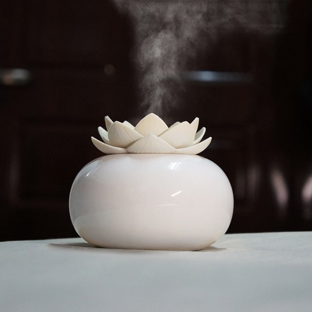 Ceramic Lotus Oil Diffuser