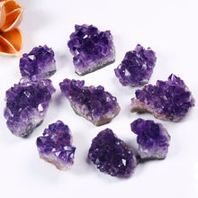 Load image into Gallery viewer, Natural Healing Raw Amethyst Cluster