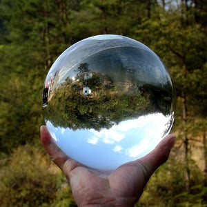 100mm Clear Glass Crystal Ball
