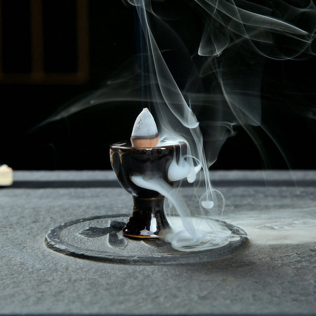Backflow Mini Incense Burner