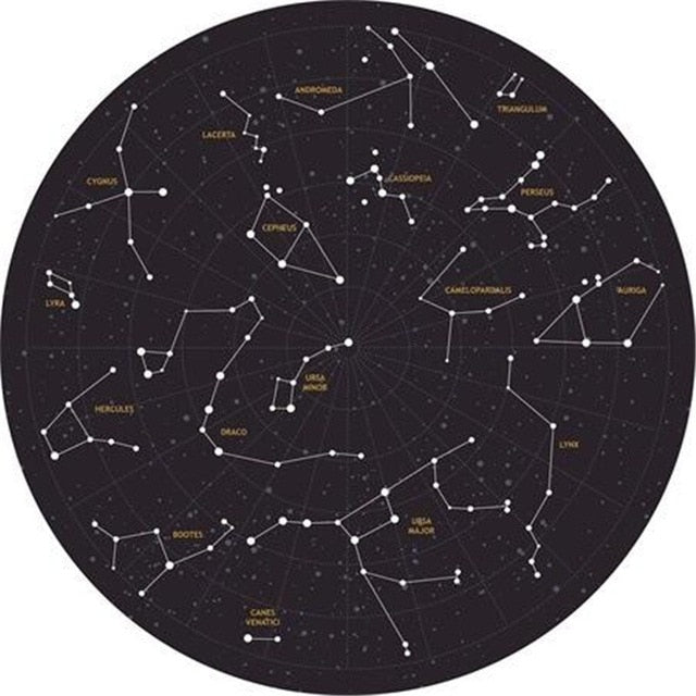 Round Constellation Carpet