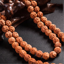 Load image into Gallery viewer, 108 Beads Natural Rudraksha Mala