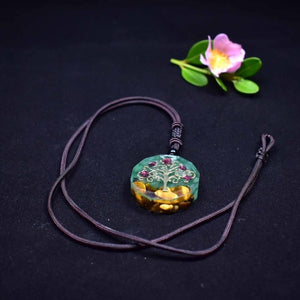 Orgone Tree Of Life Pendant Necklace