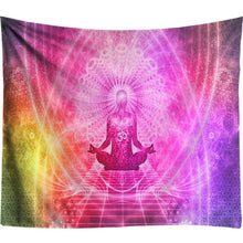 Load image into Gallery viewer, Starry Night Galaxy Chakra Wall Tapestry