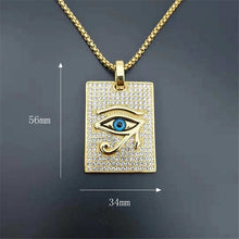 Load image into Gallery viewer, Eye Of Horus Pendant Necklace