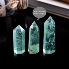 Load image into Gallery viewer, 1PC Natural Green Fluorite Crystal Point