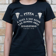 Load image into Gallery viewer, Pizza Ouija Board T-Shirt