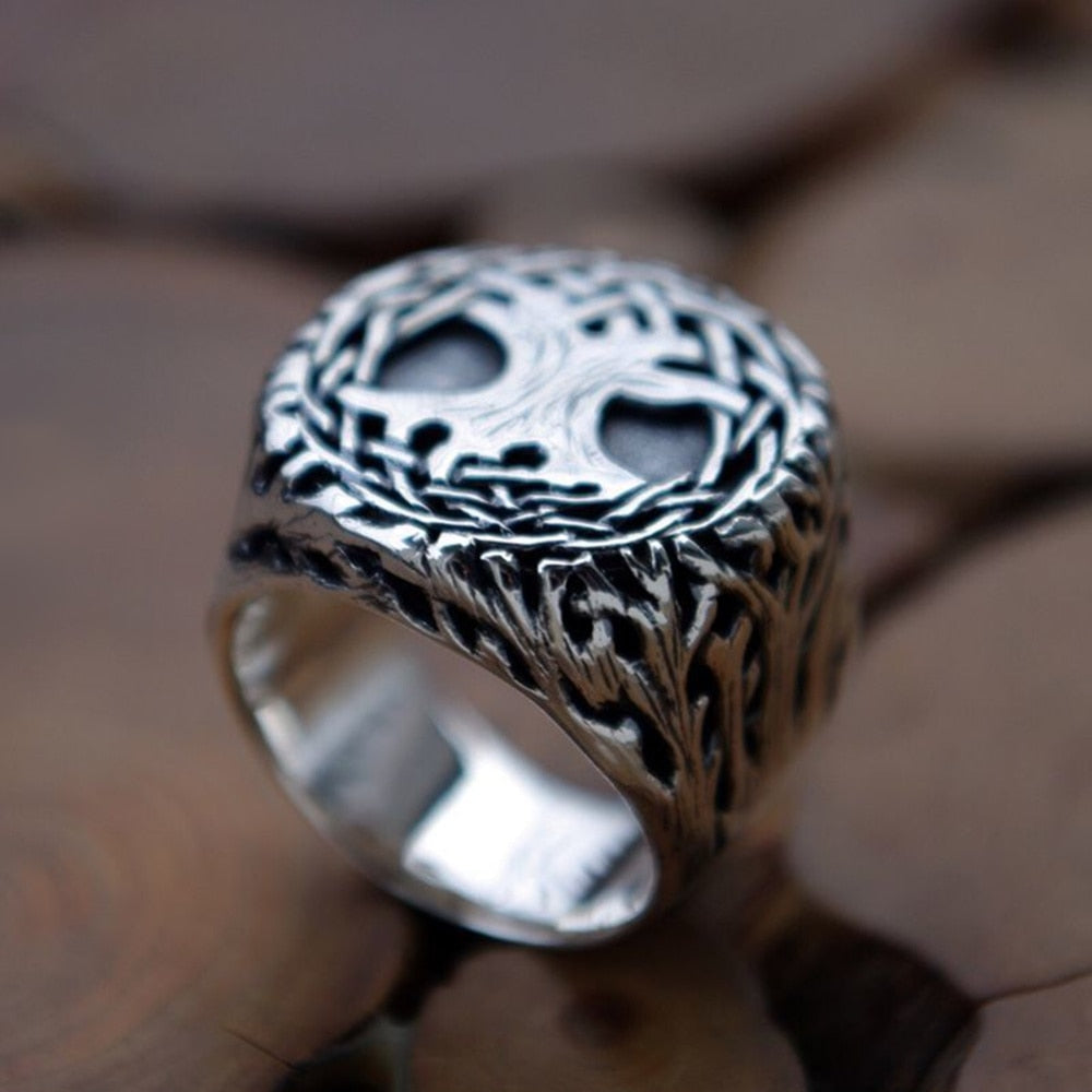 Tree of Life Amulet Ring