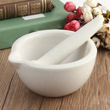 Load image into Gallery viewer, Ceramic Mortar & Pestle