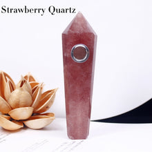 Load image into Gallery viewer, Natural Crystal Healing Pipe Set