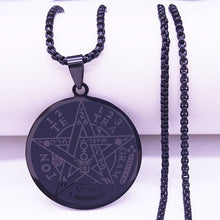 Load image into Gallery viewer, Stainless Steel Tetragrammaton Necklace