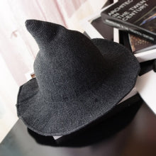 Load image into Gallery viewer, Wool Witch Hat