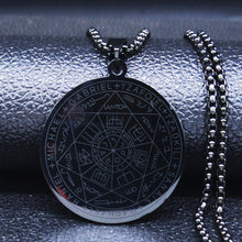 Load image into Gallery viewer, Seven Archangels Pentagram Necklace