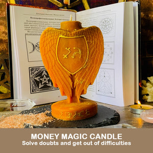 Archangel Love Wealth Transformation Luck Magic Candle