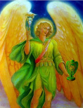 Load image into Gallery viewer, Archangel Love Wealth Transformation Luck Magic Candle