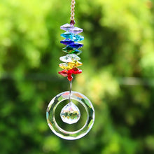 Load image into Gallery viewer, Crystal Chakra Suncatcher Prism
