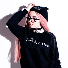 Load image into Gallery viewer, Goth Princess Sweatshirt