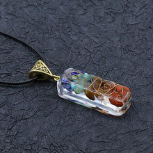 Load image into Gallery viewer, Chakra Orgone Energy Pendant Necklace