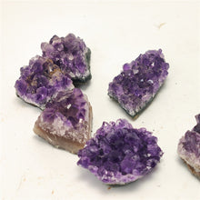 Load image into Gallery viewer, Natural Raw Amethyst Cluster