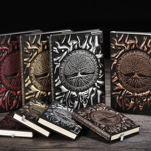 Tree of Life Leather Notebook