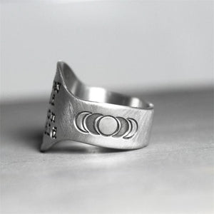 """Stay Wild Moon Child"" Ring"