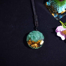 Load image into Gallery viewer, Orgone Tree Of Life Pendant Necklace