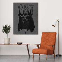 Load image into Gallery viewer, Witch Sisters Canvas Wall Art