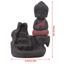 Load image into Gallery viewer, Little Monk Backflow Incense Burner