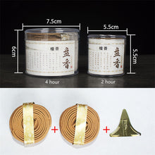 Load image into Gallery viewer, 48Pcs/Box Natural Handmade Sandalwood Coils Incense
