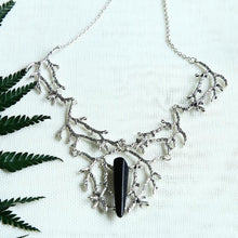 Load image into Gallery viewer, Raw Quartz Branches Witchy Necklace