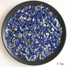 Load image into Gallery viewer, Natural Blue Lapis Lazuli Quartz Crystal Gravel