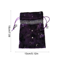 Load image into Gallery viewer, Tarot Oracle Card Velvet Storage Bag