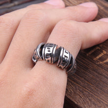 Load image into Gallery viewer, Spiral Viking Rune Ring