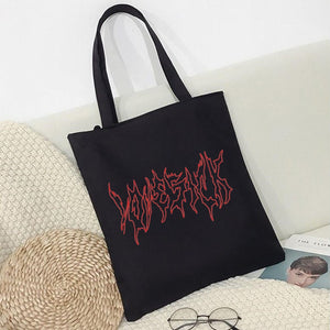 Goth Canvas Bag