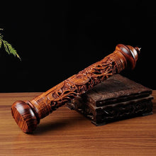 Load image into Gallery viewer, Ebony Wood Dragon Stick Incense Burner